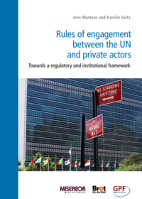 Cover_Rules of engagement between the UN and private actors