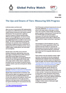 Cover The Ups and Downs of Tiers: Measuring SDG Progress EN
