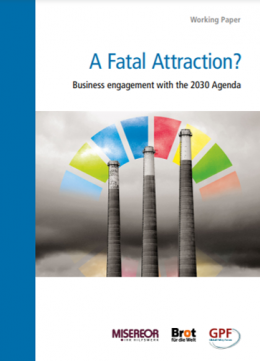 Cover_A Fatal Attraction? Business engagement with the 2030 Agenda